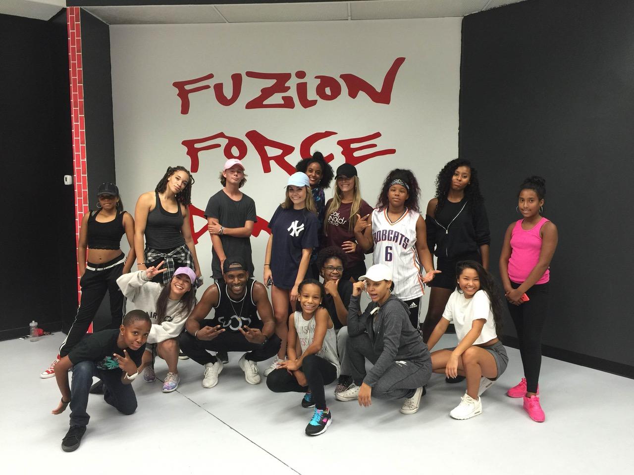 Fuzion Force Dancers